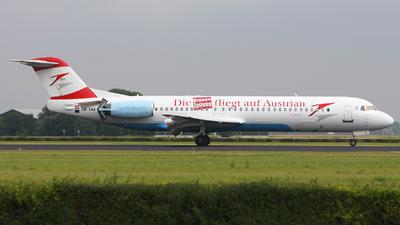 OE-LVJ - Fokker 100 - Austrian Arrows