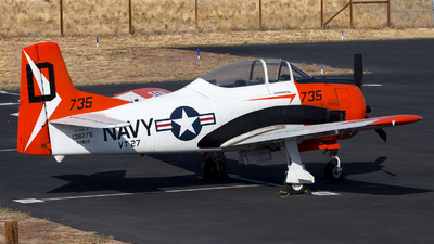 N28DE - North American T-28B Trojan - Private