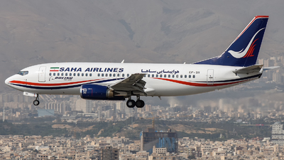 EP-SII - Boeing 737-31S - Saha Air