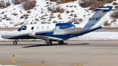 N15WE - Cessna 525 CitationJet M2 - Private