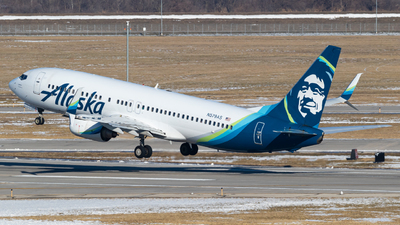 A picture of N579AS - Boeing 737890 - Alaska Airlines - © Alex Crail