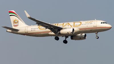 A picture of A6EIV - Airbus A320232 - Etihad Airways - © Janam Parikh