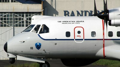 AI-2318 - CASA CN-235MPA - Indonesia - Air Force