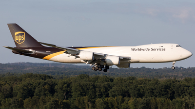 A picture of N623UP - Boeing 7478F - UPS - © Sierra Aviation Photography