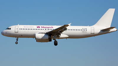 YL-LCP - Airbus A320-232 - Monarch Airlines (SmartLynx Airlines)