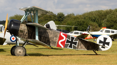 G-CFHY - Fokker DR.1 - Private