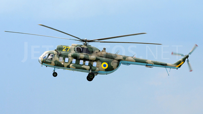 27 - Mil Mi-8S Hip - Ukraine - Air Force