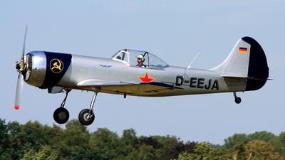 D-EEJA - Yakovlev Yak-50 - Private
