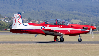 A picture of A23027 - Pilatus PC9 -  - © Mark B Imagery