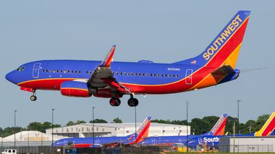 A picture of N238WN - Boeing 7377H4 - Southwest Airlines - © Positive Rate Photography