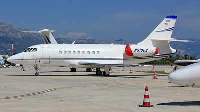N910CS - Dassault Falcon 900B - Private