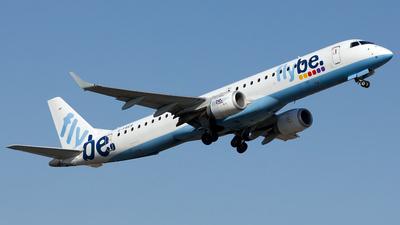 G-FBEB - Embraer 190-200LR - Flybe
