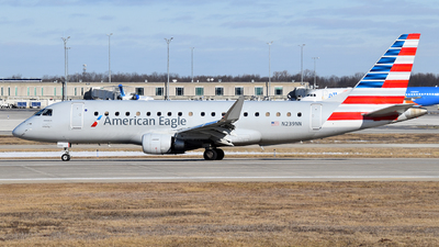 A picture of N239NN - Embraer E175LR - American Airlines - © Brady Noble