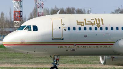 A6-EIQ - Airbus A320-232 - Etihad Airways