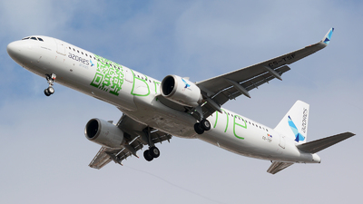 CS-TSF - Airbus A321-253N - Azores Airlines