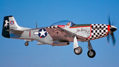 NL38JC - North American P-51D Mustang - Private