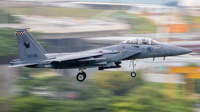 8336 - Boeing F-15SG Strike Eagle - Singapore - Air Force