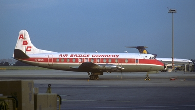 G-BBDK - Vickers Viscount 808 - Air Bridge Carriers