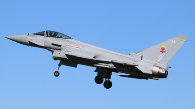 A picture of ZK339 - Eurofighter Typhoon FGR.4 -  - © hjcurtis