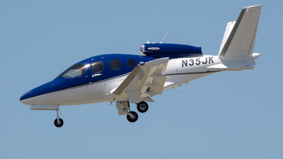 N35JK - Cirrus Vision SF50 G2 - Private