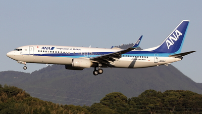 A picture of JA88AN - Boeing 7378AL - All Nippon Airways - © OHMOTO Masao