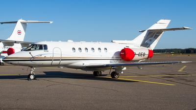SP-CEO - Hawker Beechcraft 750 - Jet Story