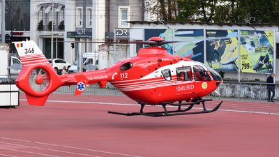 346 - Eurocopter EC 135T2+ - Romania - Emergency Rescue Service (SMURD)