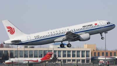 A picture of B6881 - Airbus A320214 - Air China - © Liu Zhanxu