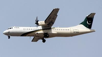 A picture of APBKX - ATR 72500 - Pakistan International Airlines - © Abdullah A. Mughal