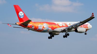 A picture of B5960 - Airbus A330343 - Sichuan Airlines - © Predic. LXY!