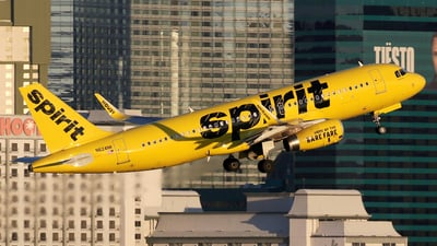 N624NK - Airbus A320-232 - Spirit Airlines