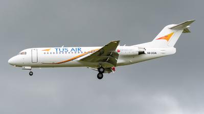 5B-DDA - Fokker 70 - Tus Airways