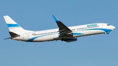 SP-ENO - Boeing 737-8AS - Enter Air
