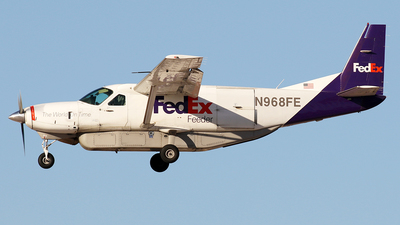 N968FE - Cessna 208B Super Cargomaster - FedEx Feeder (West Air)