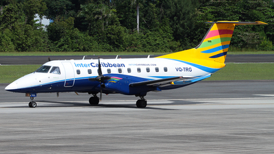 A picture of VQTRG - Embraer EMB120ER Brasilia - InterCaribbean Airways - © Angel Natal