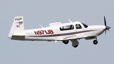 N971JB - Mooney M20S Eagle - Private