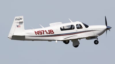 A picture of N971JB - Mooney M20S - [300024] - © Jeroen Stroes