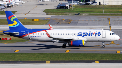 A picture of N631NK - Airbus A320232 - Spirit Airlines - © Alexander Portas