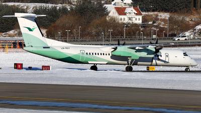 A picture of LNRDY - De Havilland Canada Dash 8400 - Wideroe - © R.Rimestad