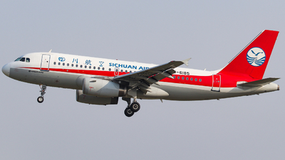 B-6185 - Airbus A319-133 - Sichuan Airlines