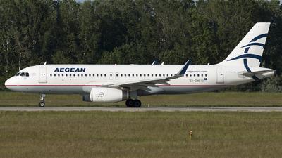 SX-DNE - Airbus A320-232 - Aegean Airlines