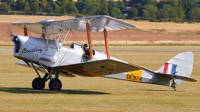 G-ANZZ - De Havilland DH-82A Tiger Moth II - Private