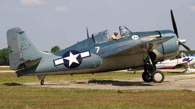 N551TC - General Motors FM-2 Wildcat - Air-Serv