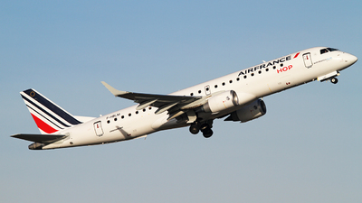 F-HBLM - Embraer 190-100 - Air France HOP
