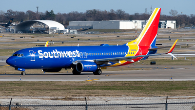 A picture of N8659D - Boeing 7378H4 - Southwest Airlines - © Michael Place