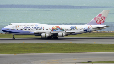 B-18203 - Boeing 747-409 - China Airlines