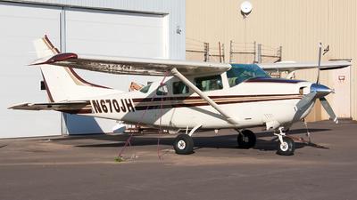 A picture of N670JH - Cessna U206G Stationair - [U20604489] - © Jeremy D. Dando