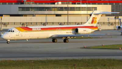 EC-FEZ - McDonnell Douglas MD-87 - Iberia