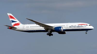 A picture of GZBKR - Boeing 7879 Dreamliner - British Airways - © Sebastian Thiel