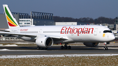 F-WZNC - Airbus A350-941 - Ethiopian Airlines
